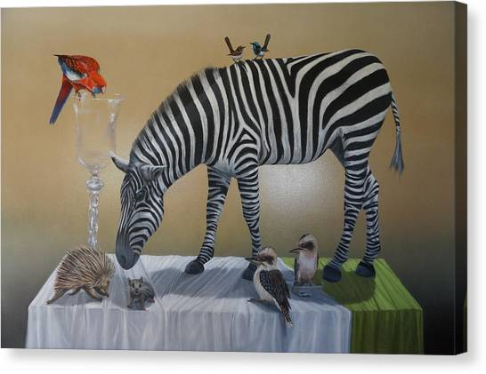 Animal Curiosity Canvas Print by Clive Holden