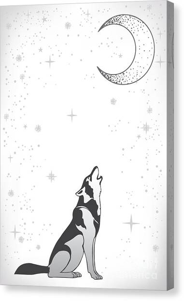 Meditate Canvas Print - Animal Print For Adult Anti Stress by Anastasia Mazeina