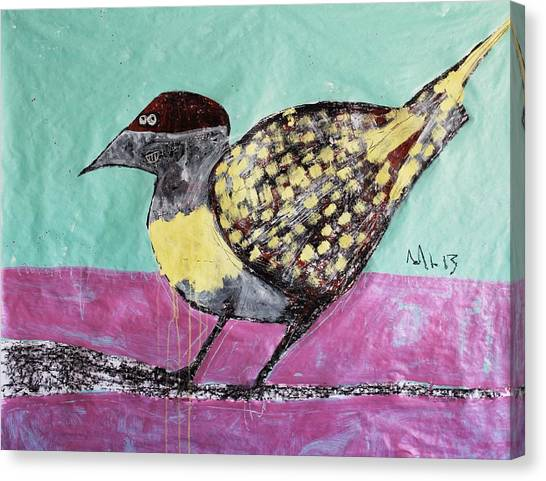 Acrylic On Canvas Print - Animalia Avis No.7 by Mark M  Mellon