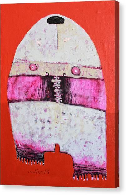 Animus No 24 Canvas Print by Mark M  Mellon