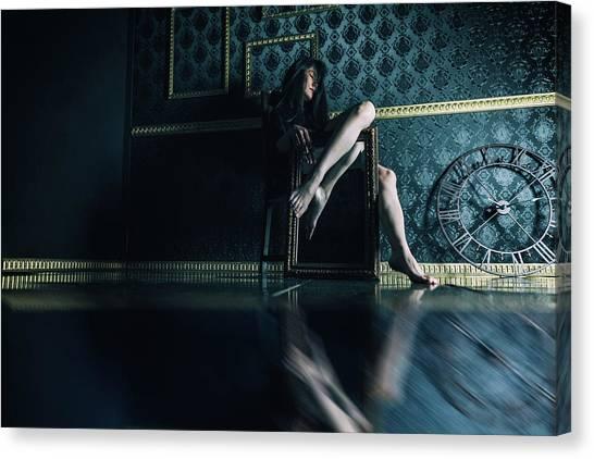 Legs Canvas Print - Anna by Daisuke Kiyota