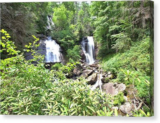 Anna Ruby Falls - Georgia - 1 Canvas Print