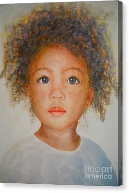Anna Canvas Print by Terri Maddin-Miller