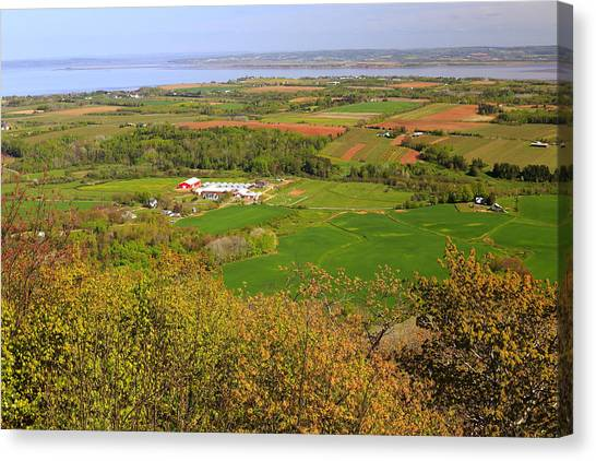 Annapolis Valley Nova Scotia Canvas Print