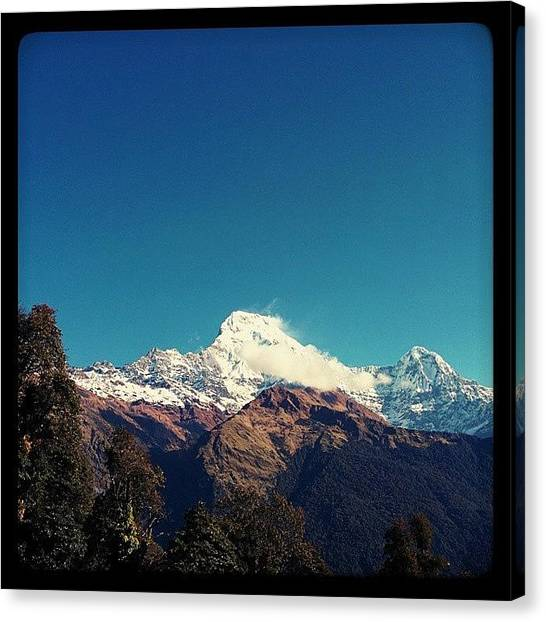 Beach Sunrises Canvas Print - #annapurna by Raimond Klavins