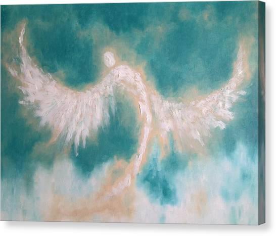 Anne's Angel Canvas Print