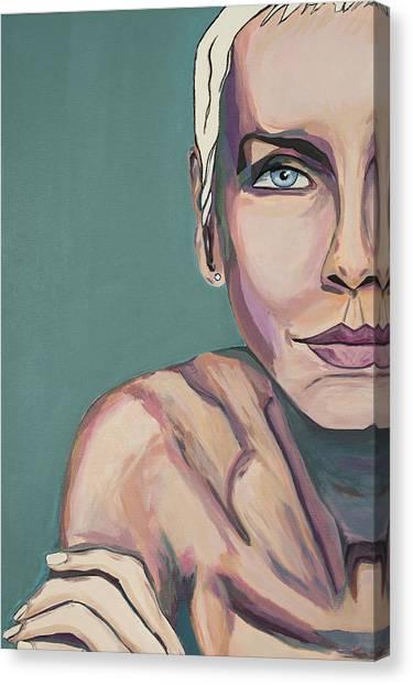 Annie Lennox Talk To Me Canvas Print