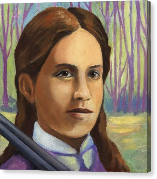 Annie Oakley Canvas Print