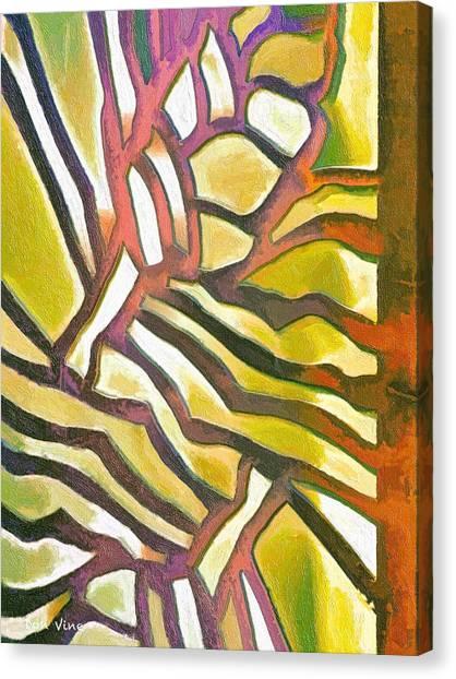 Anodyzed Aluminum Canvas Print