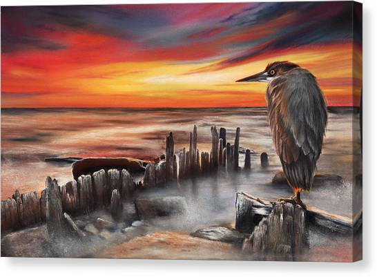 Another Bloody Sunset Canvas Print