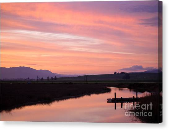 Another Carneros Sunset Canvas Print by Jordan Rusin