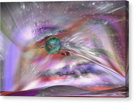 Another Cosmic View Canvas Print