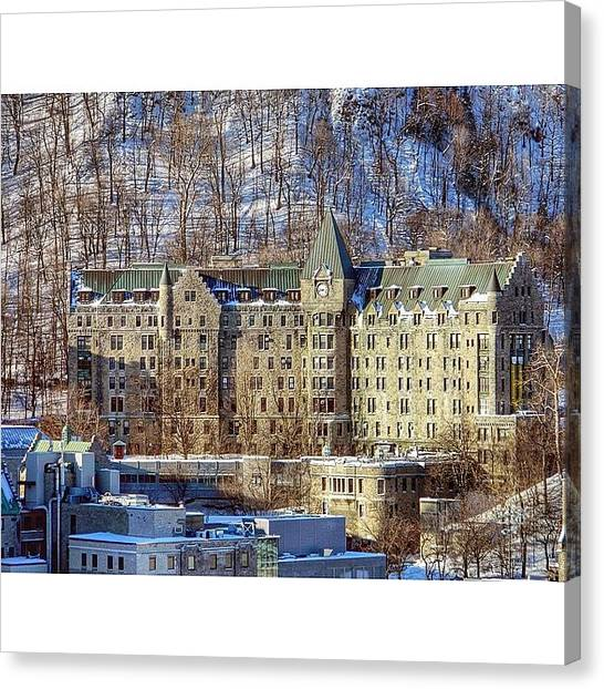Victorian Canvas Print - Another Grey Day In #montreal. A Week by Austin Kapfumvuti