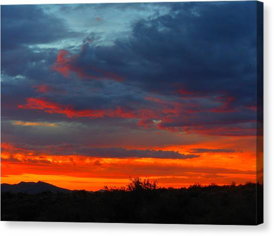 Another Masterpiece Created By The Hand Of Our Creator. Canvas Print