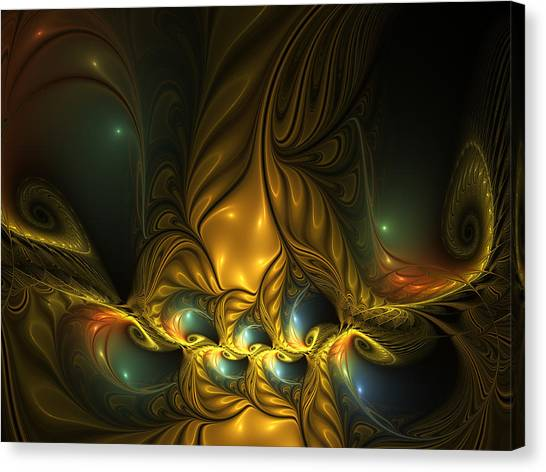 Another Mystical Place Canvas Print