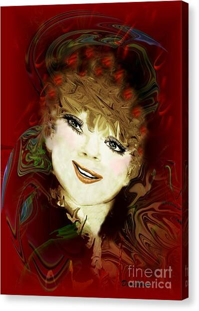 Another Pretty Face Canvas Print by Doris Wood