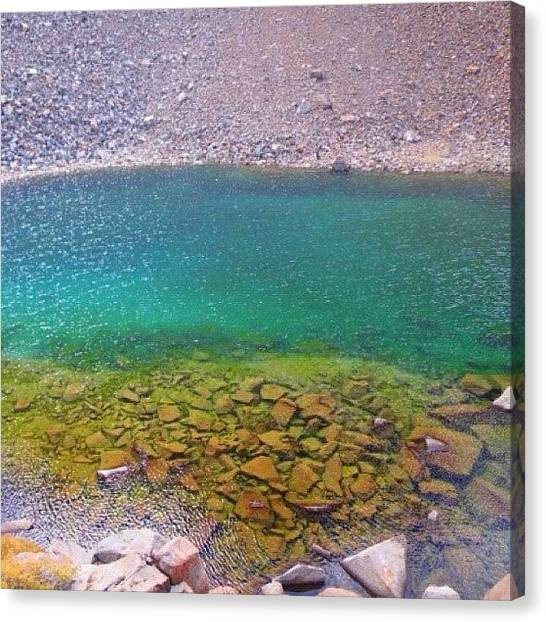 Glaciers Canvas Print - Another Shot Of The Beautiful Water by John Williams