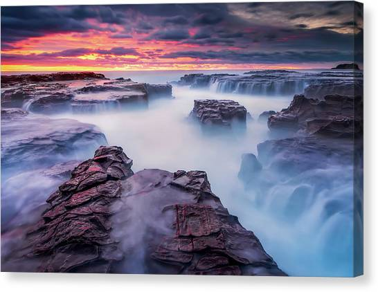 Formations Canvas Print - Another World by Joshua Zhang