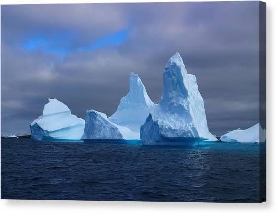 Antarctica Canvas Print - Antarctic Iceberg 3 by FireFlux Studios