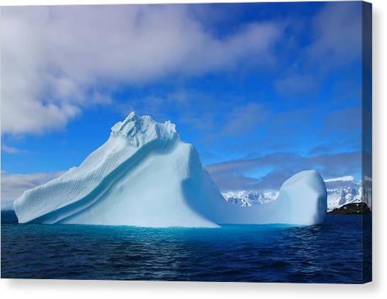 Antarctica Canvas Print - Antarctic Iceberg by FireFlux Studios
