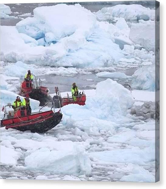 Antarctica Canvas Print - #antarctica #hurtigruten #fram by Pam Kantola