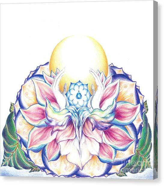 Antaryamin Oneness Art Canvas Print