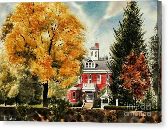 Antebellum Autumn II Canvas Print
