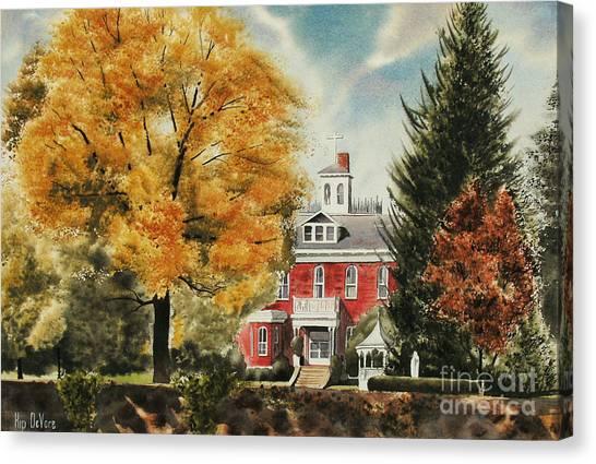 Antebellum Autumn Ironton Missouri Canvas Print