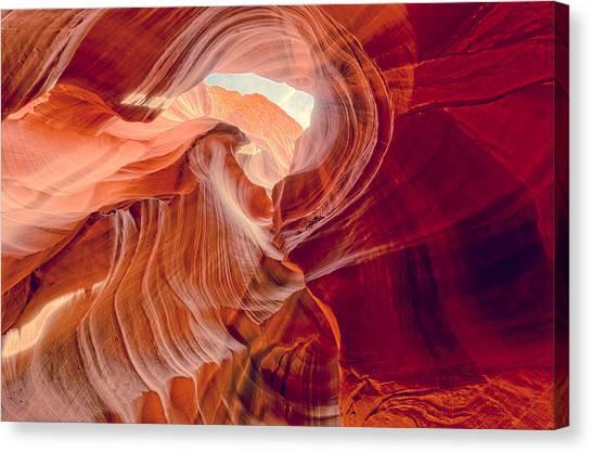 Antelope Canyon Navajo Nation Page Arizona Weeping Warrior Canvas Print