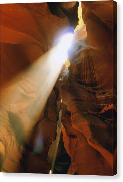 Antelope Canyon One Canvas Print