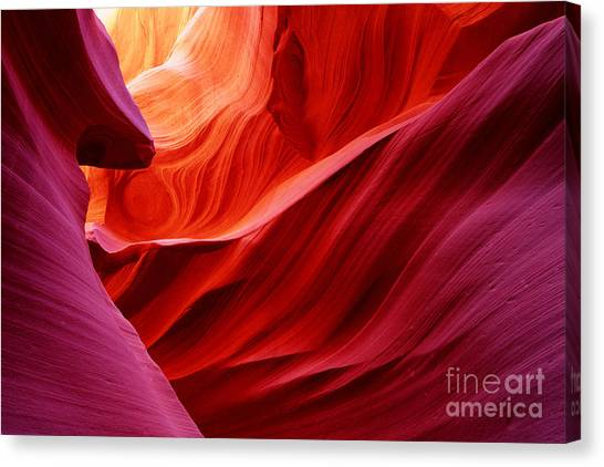 Antelope Lower Canyon Canvas Print