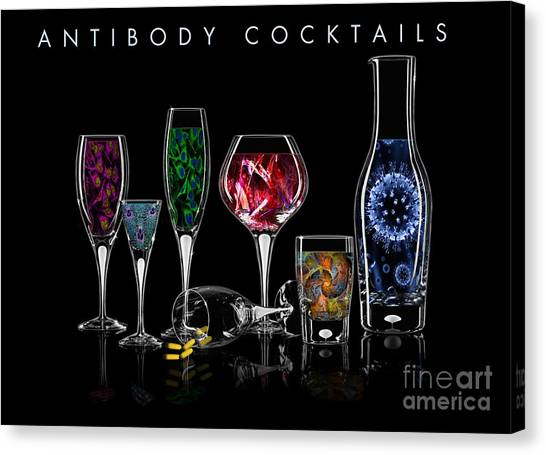 Antibody Cocktails Canvas Print