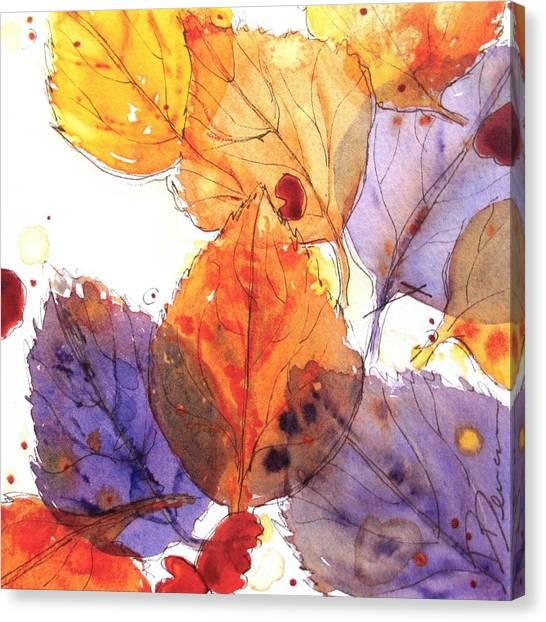 Anticipating Autumn Canvas Print