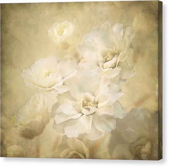 Antique Floral Canvas Print
