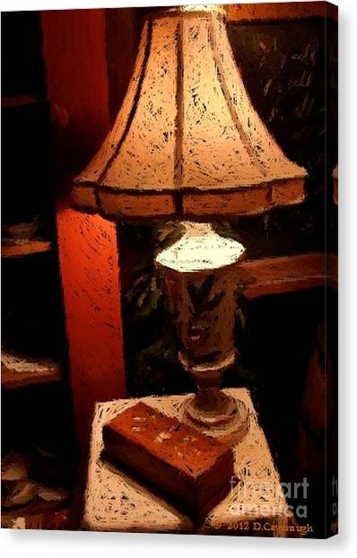 Antique Lamp Canvas Print