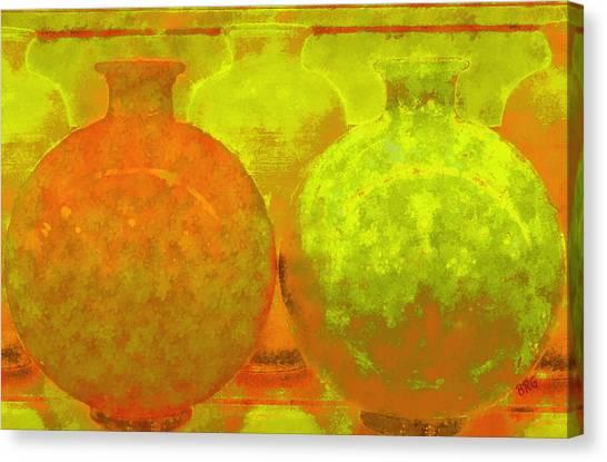 Antique Vases Canvas Print