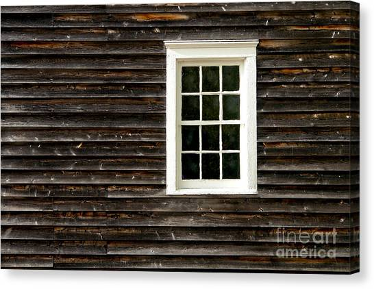 Window Canvas Print - Antique Window by Olivier Le Queinec