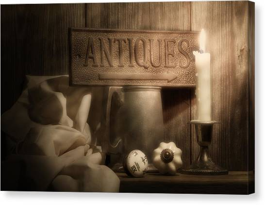 Drawers Canvas Print - Antiques Still Life by Tom Mc Nemar