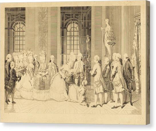 Liberte Canvas Print - Antoine-jean Duclos After Vicomte Charles Henri Desfosses by Quint Lox