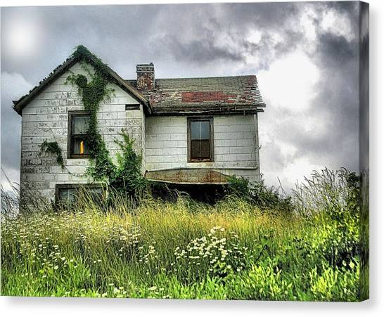 Anybody Home ??????? Canvas Print