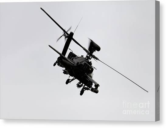 Aac Canvas Print - Apache by J Biggadike