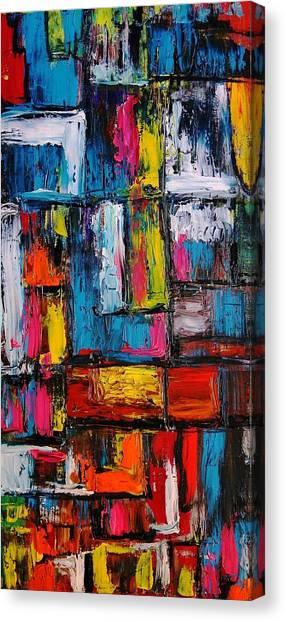 Apartment Block 2 Canvas Print