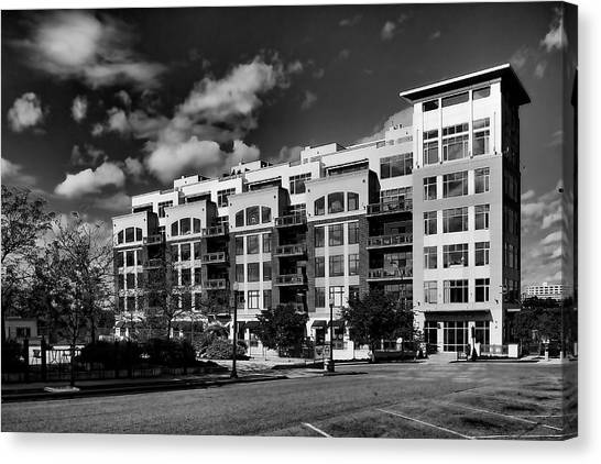 Apartment In Akron Canvas Print by William Woide