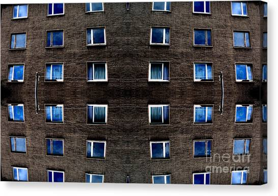 Apartments In Berlin Canvas Print