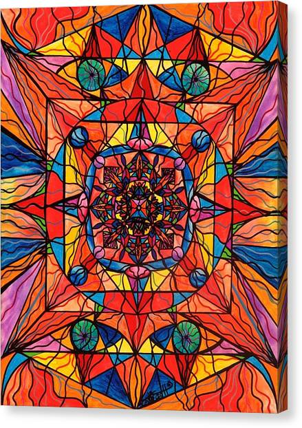 Sacred Canvas Print - Aplomb by Teal Eye Print Store