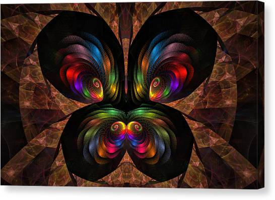 Apo Butterfly Canvas Print