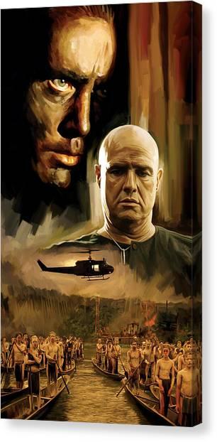 Apocalypse Canvas Print - Apocalypse Now Artwork by Sheraz A
