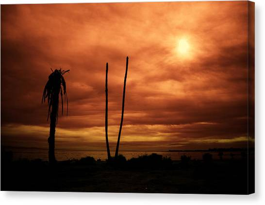 Canvas Print featuring the photograph Apocalypse Nowish by Mike Trueblood