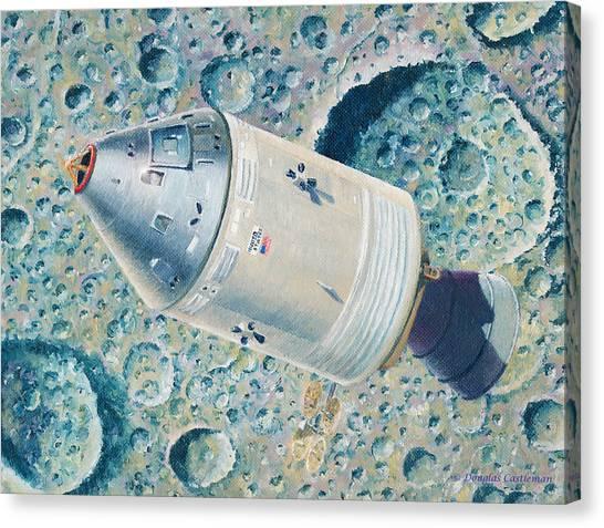 Apollo 8 Canvas Print