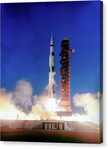 Canvas Print - Apollo 8 Launch by Nasa/science Photo Library
